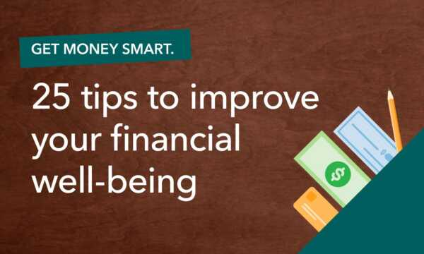 11 Things You Can Do Today For Your Financial Well-being