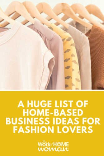 20 Ideas To Start Now!  A Clothing Sales Business
