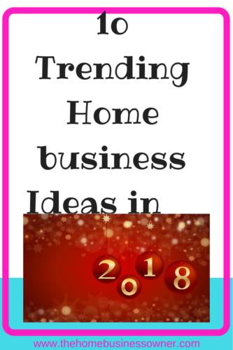 2018 Business Ideas List