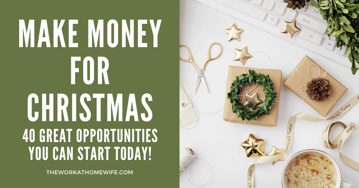 25 Excellent Business Ideas to Make Money at Christmas