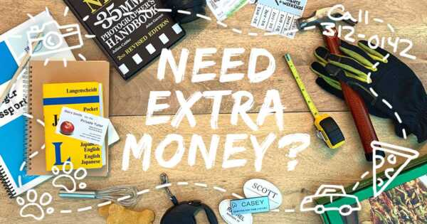 7 Things You Could Be Doing To Make Extra Money Today