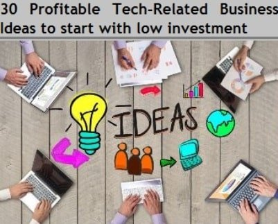 9 Profitable Technology-Related Businesses
