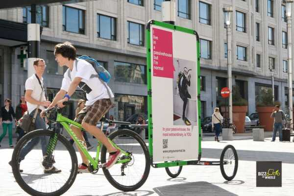 Advertising Bicycle Business