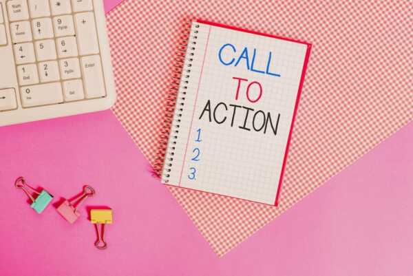 Call-to-action buttons: 8 golden rules of calls to action