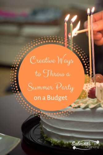 ⋆ How to Throw a Fabulous Summer Party ⋆ American Business
