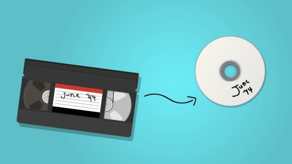 Earn money converting VHS videos to DVD
