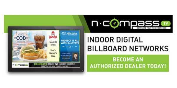 Start a business with indoor digital billboards with N-Compass TV