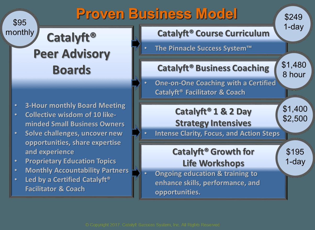 Start a Catalyft Success System Business