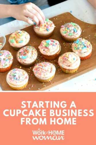 Start a cupcake business from home