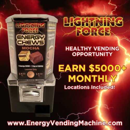 Start a Lightning Force Energy Vending Business