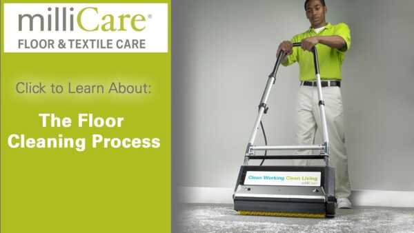 Start a milliCare franchise for the care of floors and fabrics