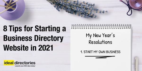 Start an ideal directory business