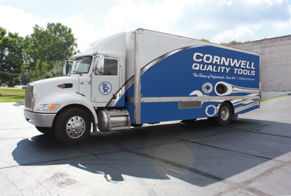 Take the wheel of a Cornwell Tools franchise