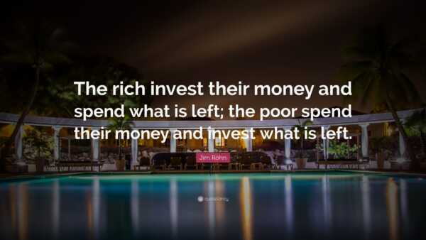 The Rich Invest in Their Mind