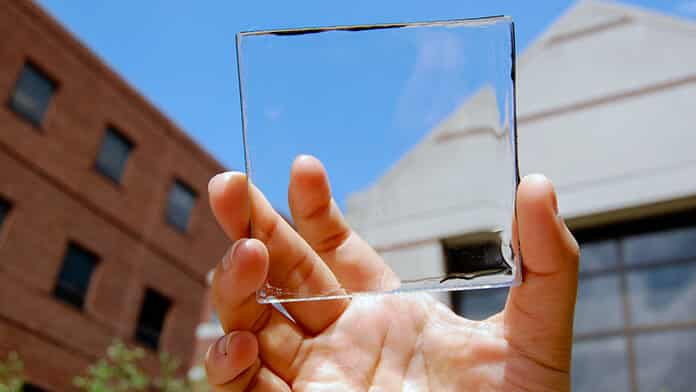 Transparent solar panels will be the home windows of the future
