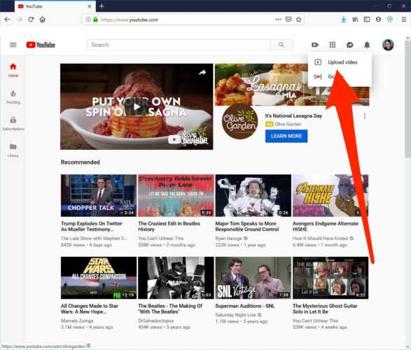 Upload Videos to Youtube, Another Online Business